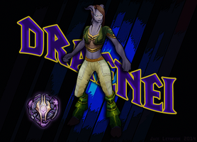 Angry Draenei - WoW by Jace-Lethecus