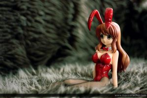 Bunny Girl: Mikuru by BlackMageAlodia