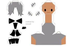 xemnas papercraft by noixeZ