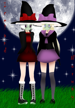 Halloween costumes: Iceland and Norway by AskMMDNyordics