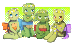 Turtle Tots by CutieClovers
