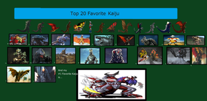 Kahnac's Top 20 Favorite Kaiju by kahnac