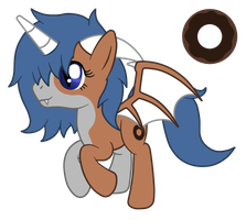 OC: Chocolate Glaze the Longmi by SilverRomance