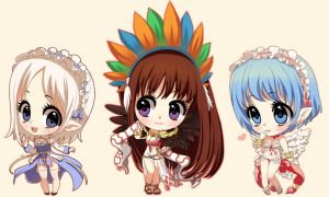 More chibis by ikr