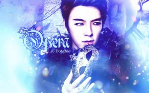 Lee Donghae - Opera by JacobBlacksPrincess