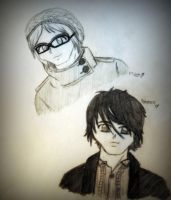 Gerard and Mikey Way. by ReverberatingSilence