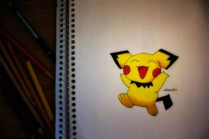 Pichu by NChicaGFX