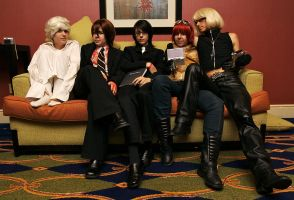 Yaoi Con: Death Note Couch by CrushMyVelvet