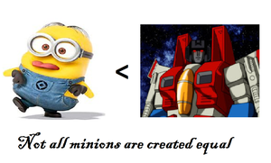 Not all minions are created equal by MetallicGirl