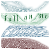 Fall On Me - 25 leaf brushes by sleepwalkerfish