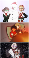 Happy Holidays! by LiliumSnow