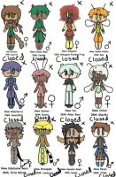 -CLOSED- TMM Write to Adopt Adoptables 6 by TheFuschiaSide