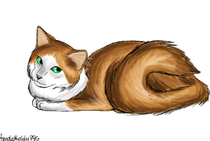 Squirrelflight by TangledTabby876