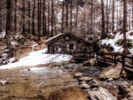 Old mill [hdr] by bellaricca