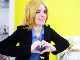 Cosplay Hetalia - France 01 by Kaitollen