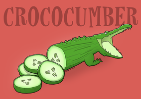 Crococumber by Cassan