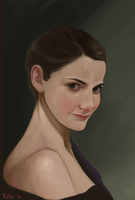 Molly Hooper by imPhelikz
