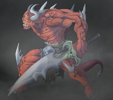 Demon by MoonFX