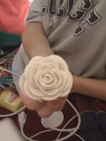 Play-Dough Rose by PoisonJoshy