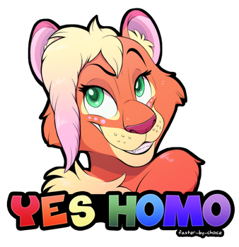 Peachy Badge by faster-by-choice