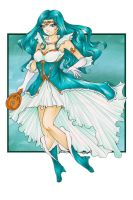Sailor Neptune Redesign (Contest Entry) by Ranefea