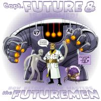 Remake - Captain Future and the Futuremen by DBed