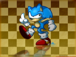 Classic Sonic - Concept Art by SilverSonic44