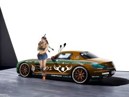 SLS AMG E-N-D Julia Chang re-spec pic 1 by girabyte225-jc-lover