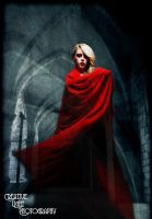 Spectral Woman in Red by swampfoxinsc