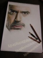 Robert DOWNEY Jr. WIP III by A-D-I--N-U-G-R-O-H-O