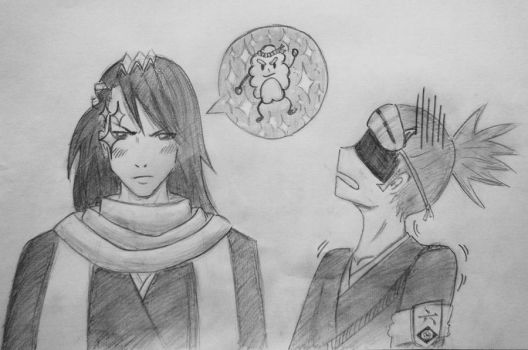 What actually goes on in Byakuya's head (4contest) by Lemon-Yelloww