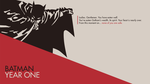 Batman Year One Wallpaper by Meway