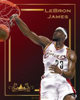 LeBron-vector by mac-p86