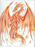 Fire Dragon Racphyn by Dark-Dragon-Kyra