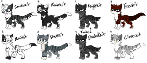 AspenxShadow and MoonxRook Hypokits by MistDapple