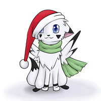 Mary Christmastime! by Hamsterpfote