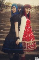 Lolita sisters by Nadixe