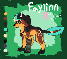 Official Faylinn Refrence by Xx-AnickJukebox-xX