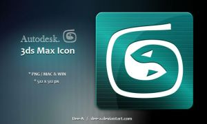 Autodesk 3ds Max Icon by Dee-A