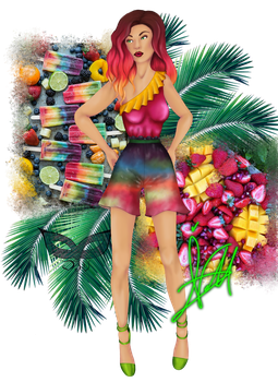 Tropical Fruit by verdecasa