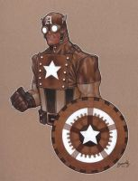Steampunk Cap by Bambs79