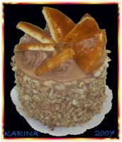 Dobos torte by BeautyCanBeDecieving