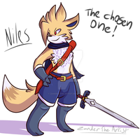 Niles The Chosen One (Furotion's Legend) by Zander-The-Artist