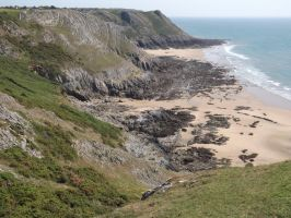 bays at Pennard by nonyeB