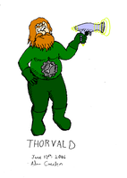 Space Engineer Thorvald by AdamCuerden