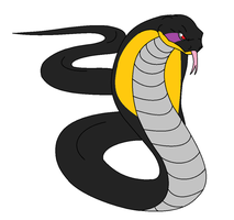 Bass as a King Cobra. (NOT SORRY) by bunkiecycles