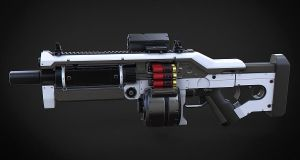 Komodo Assault Shotgun by Aberiu