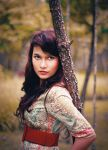 portraiture for the scenery by haidoz