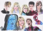 Spider-Man sketches by andrecamilo20