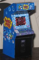 Bubble-Bobble Game Cabinet by paperart
